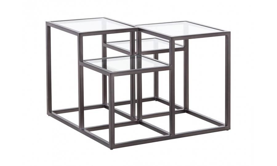 Table basse Astoria en verre