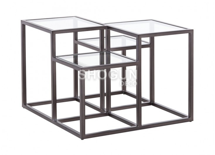 Table basse Astoria en verre