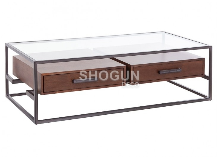 Table basse Owen en verre