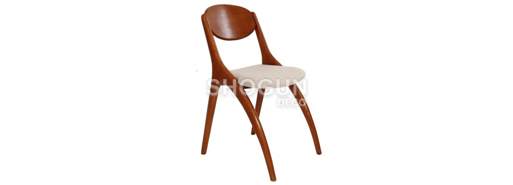 Crabe chair - Beige fabric