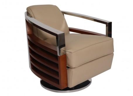 Madison swivel streamline armchair