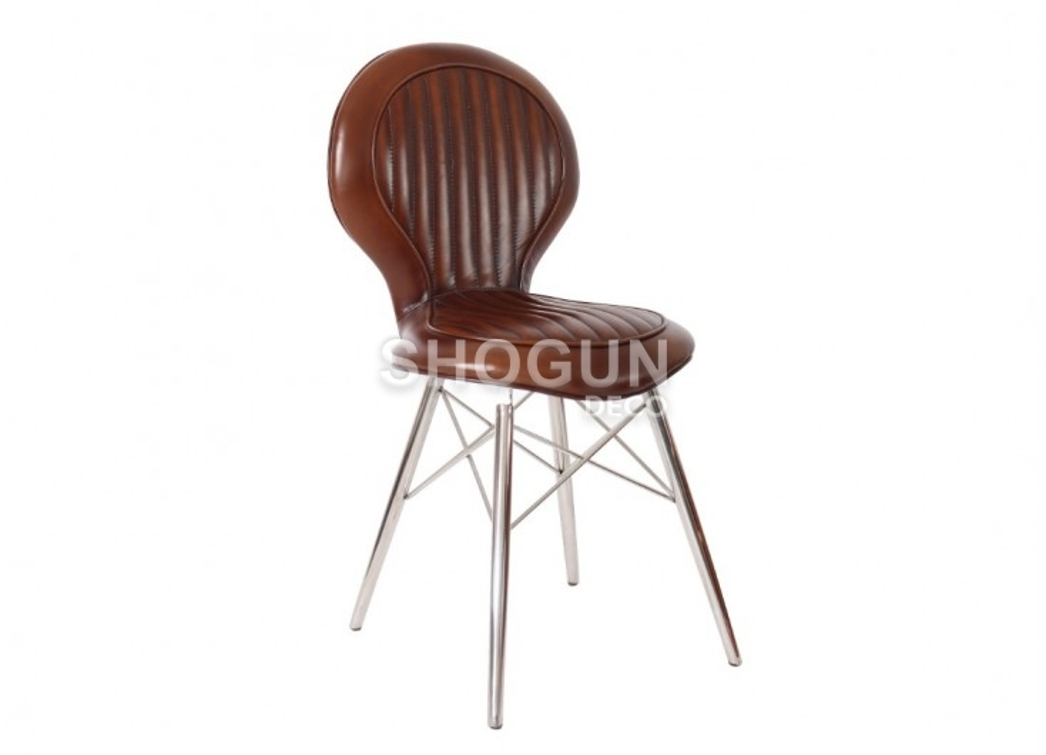 Aviator chair - Brown leather
