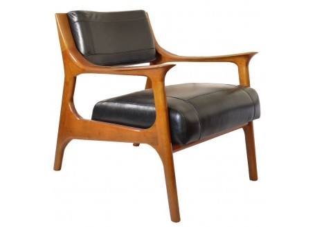 Nordic contemporary club armchairarmchair beige leather
