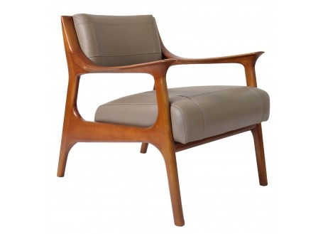 Nordic contemporary armchair