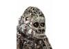 Sculpture de gorille en métal récupéré
