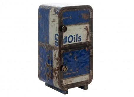 Armoirette en bidon recyclé - artisanat