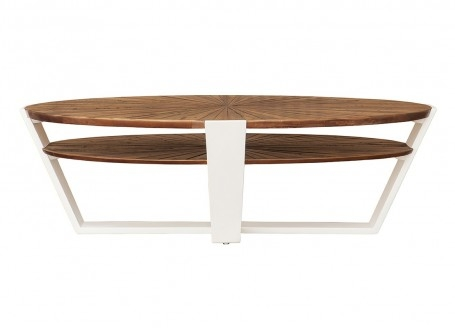 Table basse ovale Surya - 130cm