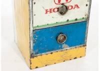 Chiffonnier en bidon recyclé - artisanat