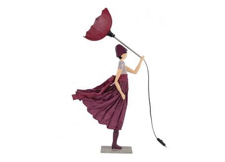 Lampe Kleoniki - fille au parapluie
