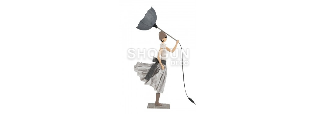 Lampe Vrisihida - fille au parapluie