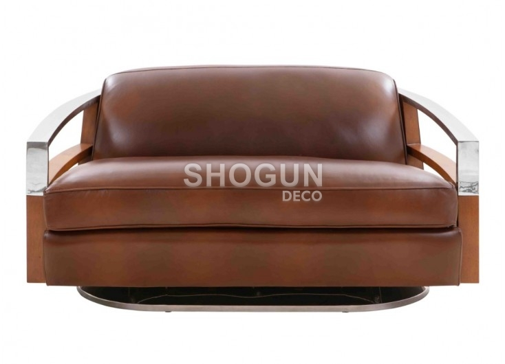 Streamline Madison sofa in brown leather -