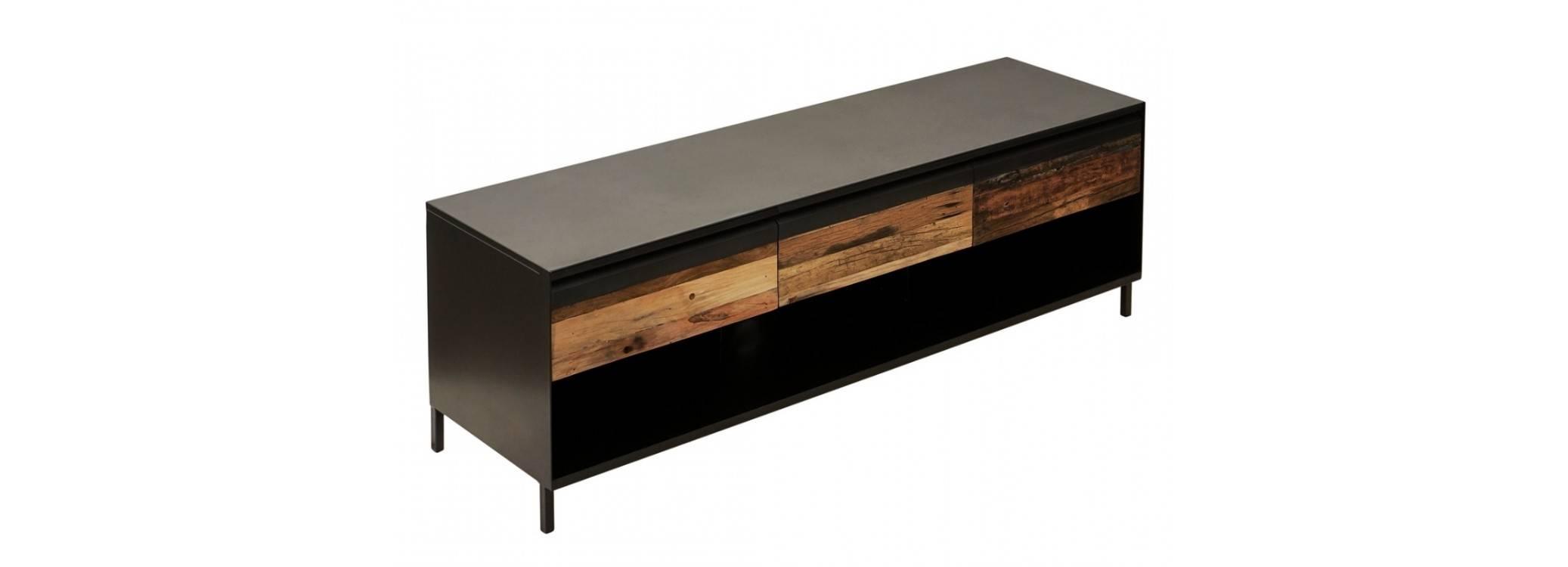Meuble TV Pure - 3 tiroirs