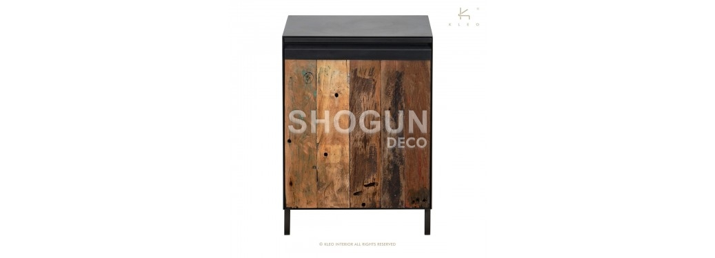 Petit cabinet Pure - 1 porte - avec poignée