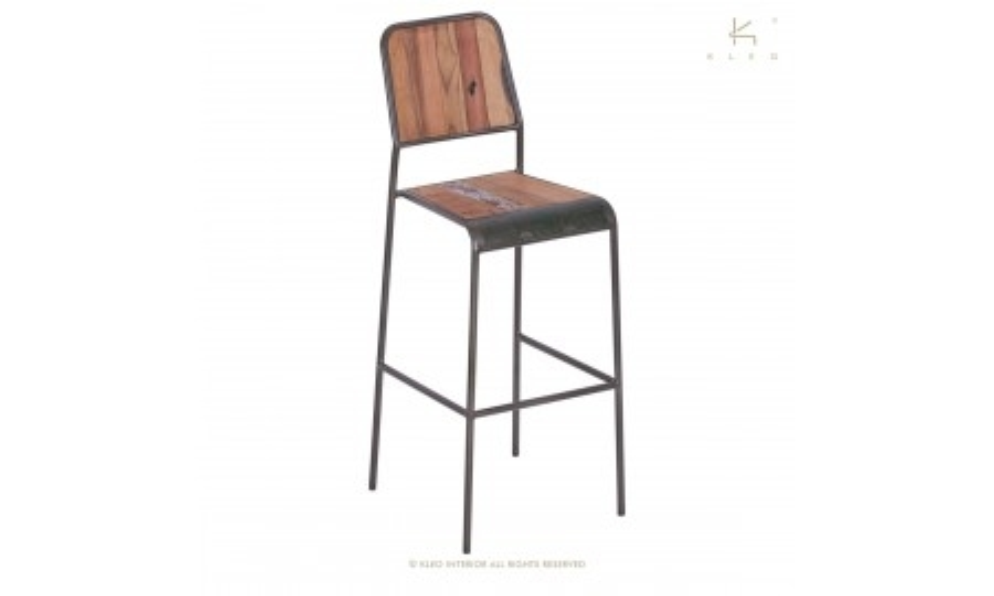Chaise haute de bar Sixties