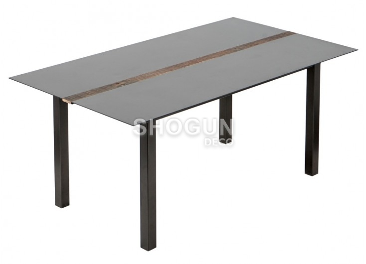 Table de repas fixe rectangulaire Influence