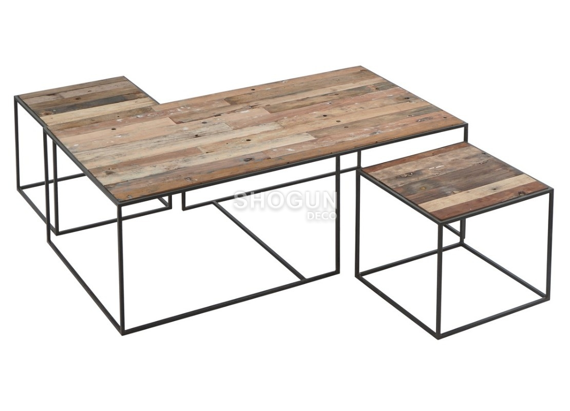 Malle Comme Table Basse table basse gigogne influence