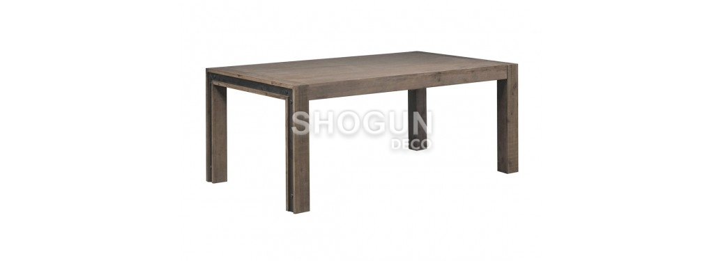 Table à dîner Urban avec allonge - 160/210cm
