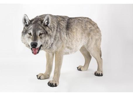 Statue réaliste - Loup