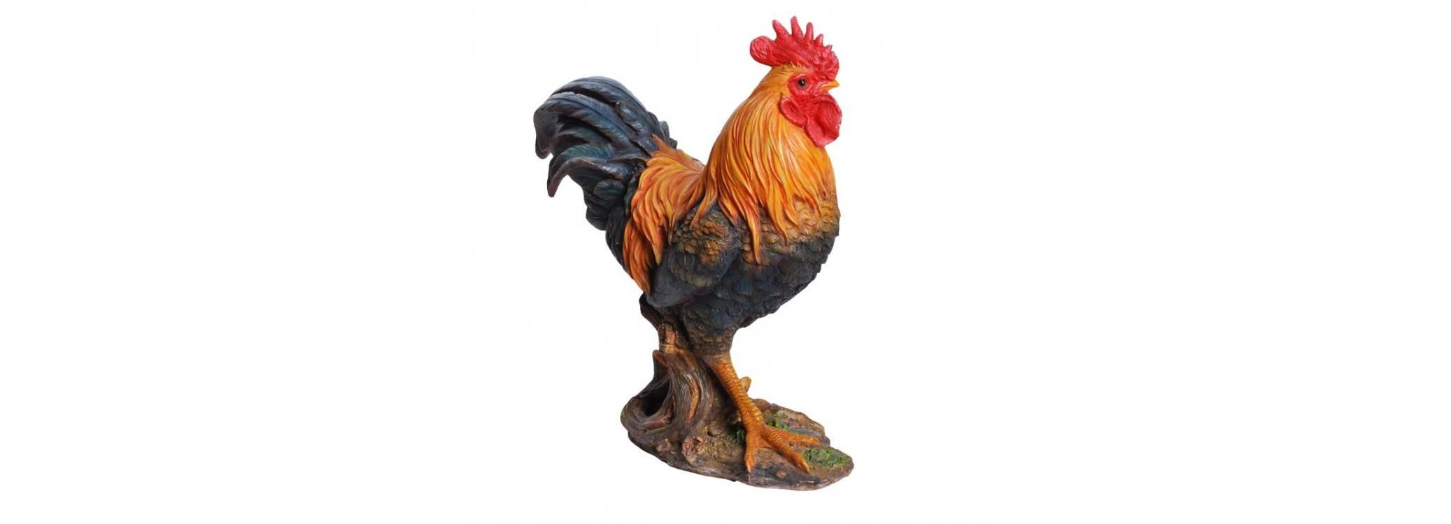 Statue réaliste - Coq
