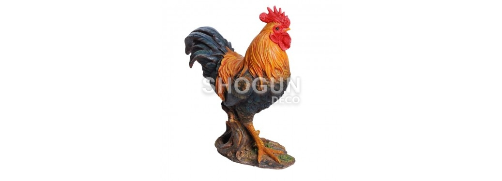 Realistic statue - Rooster