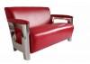 Aston sofa - White leather