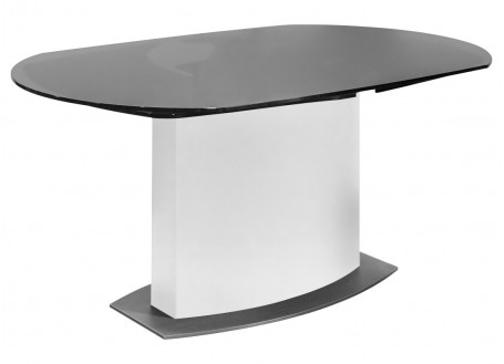 Table repas extensible Liner - finition blanche