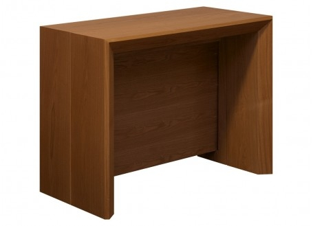 Console extensible en table - finition bois clair