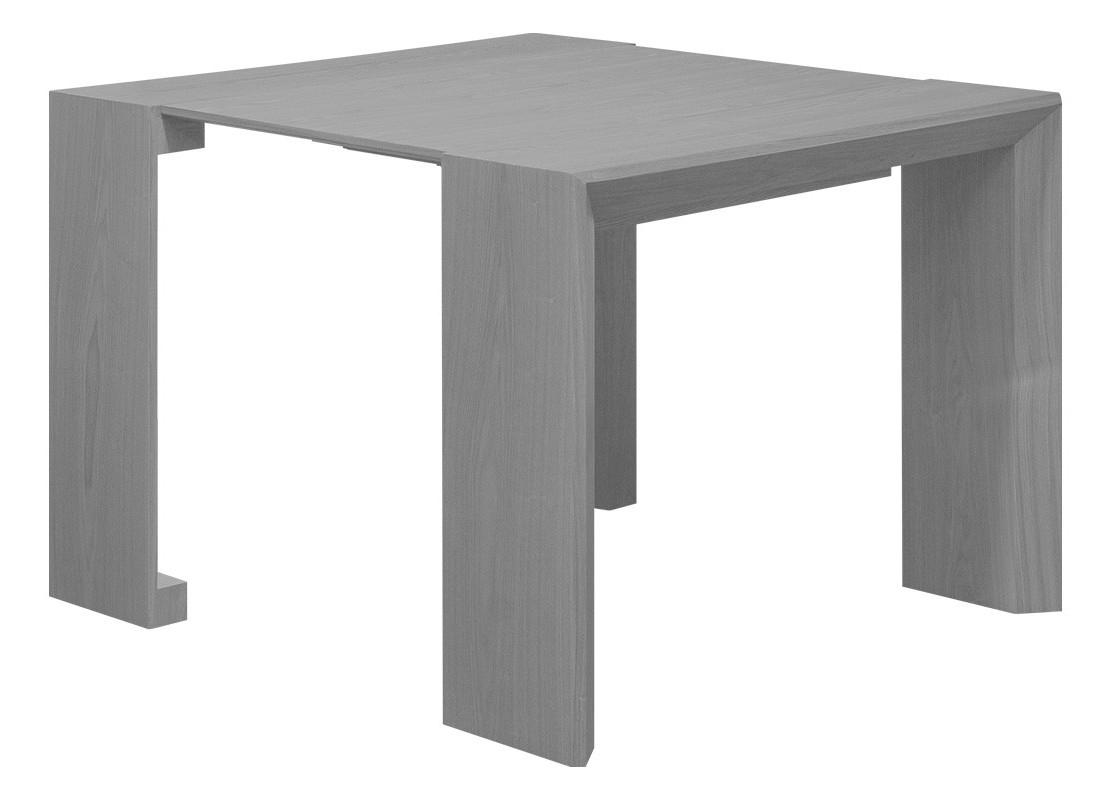console extensible en table  grise