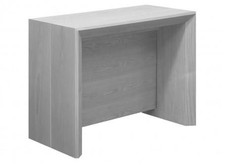 Console-table extensible Stretch - finition bois foncé