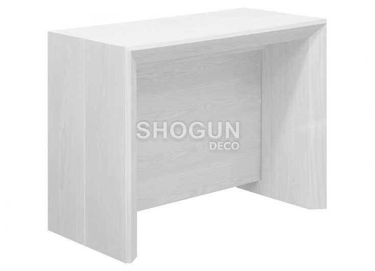 Console-table extensible Stretch - finition grise