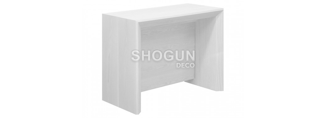 Console-table extensible Stretch - finition blanche
