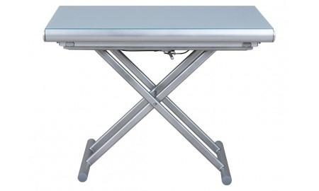 Table basse extensible relevable - Gris clair