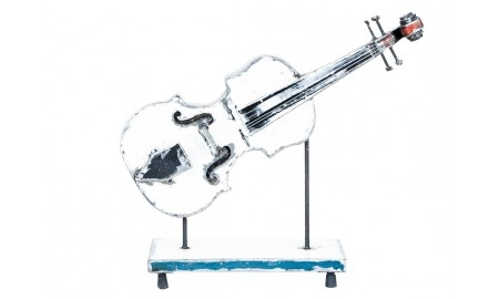 Guitar made ouf of oil can  - arts & crafts