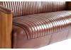 Canoë Sofa - Beige leather