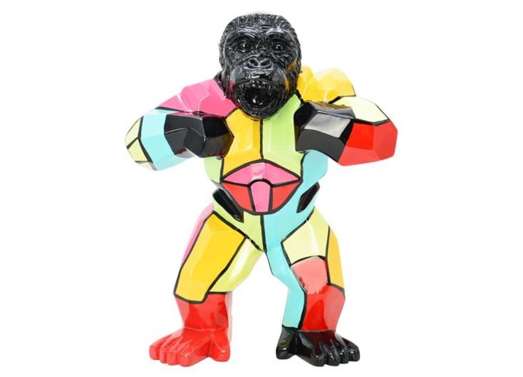 Statue de gorille en résine - H40cm