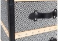 Chiffonnier Cap Horn - Façon croco noir