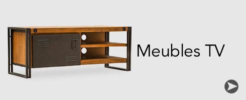 Meubles de style et de caract re industriel scandinave vintage 2 shogun d co - Meuble tv encadrement ...