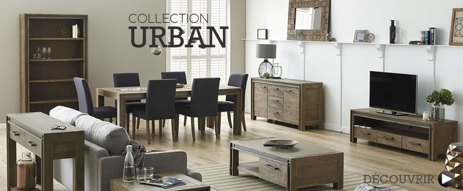 Mobilier industriel en collection Urban