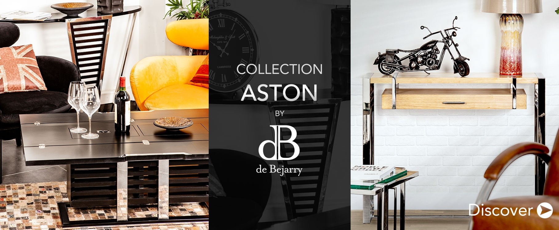 Aston industrial furniture collection