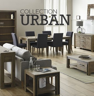 Collection de mobilier industriel Urban